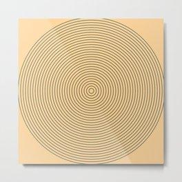 Circles Metal Print
