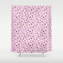 Colourful Butterflies Shower Curtain