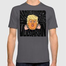 Short-Fingered Vulgarian X-LARGE Mens Fitted Tee Asphalt