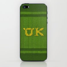 Oozma-Kappa sweater. iPhone & iPod Skin