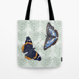 A Butterfly summer Tote Bag