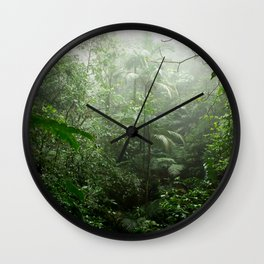 Into the Cloud Forest Wall Clock