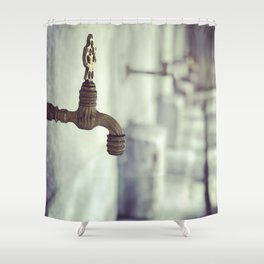 Ablution Solution Shower Curtain