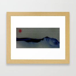 nude bodyscape - Japan Sun Framed Art Print