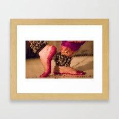 Abstract Dancer Framed Art Print