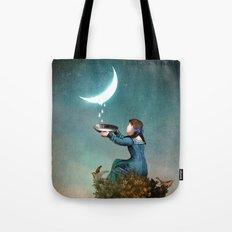 Moondrops Tote Bag