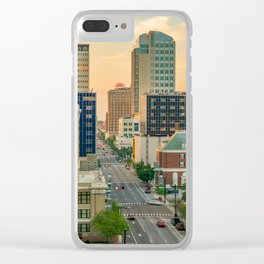 Golden Hour Tampa Clear iPhone Case