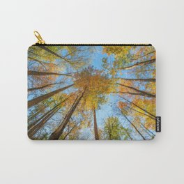 Kaleidoscope - Fall Colors in Trees of Great Smoky Mountains Carry-All Pouch