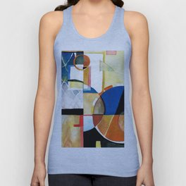 Abstract1 Unisex Tank Top