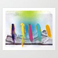 Composition 537 Art Print