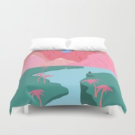 Girls' Oasis Duvet Cover