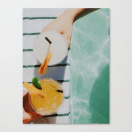 Pool Life Canvas Print