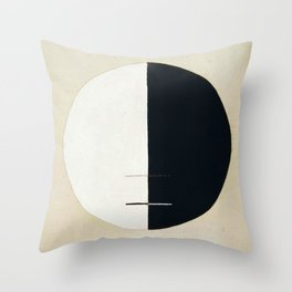 Hilma Af Klint Buddha's Standpoint In The Earthly Life Throw Pillow
