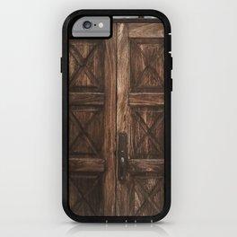 Closed Door iPhone Case
