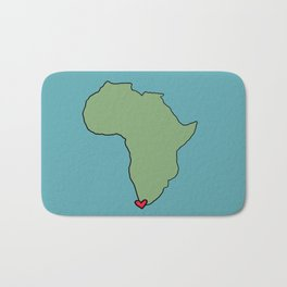 Ali Hearts Cape Town Bath Mat