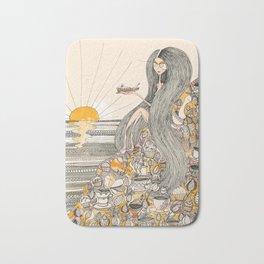 Toffee Sunset Bath Mat