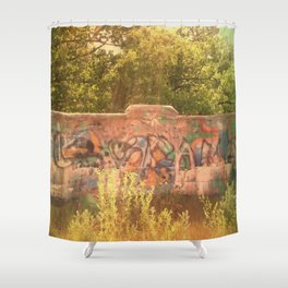 The Tracks Shower Curtain