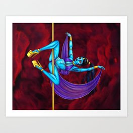 Pole Creatures - Genie Art Print