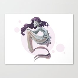 Dreamy Mermaid Canvas Print
