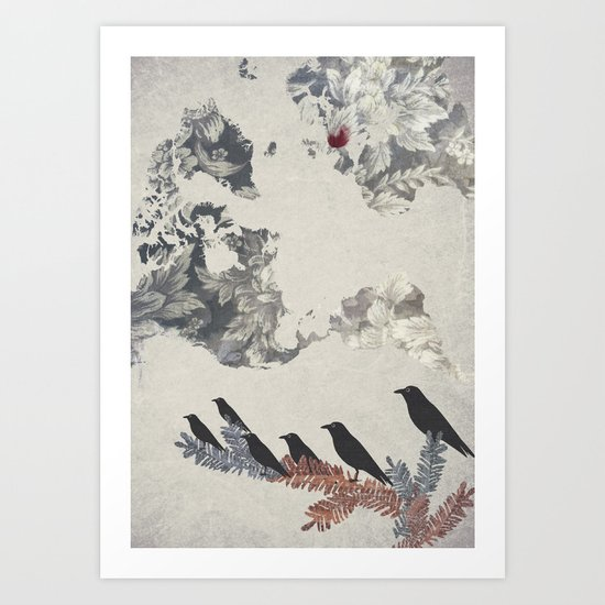The Carrion Crow 2 Art Print