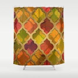Glow of Autumn Shower Curtain