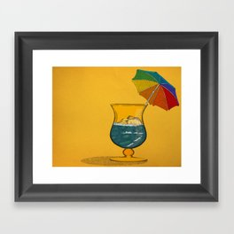 Summertime! Framed Art Print