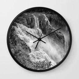Stunning Barron Falls Wall Clock