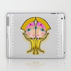 gemini zodiac sign Laptop & iPad Skin
