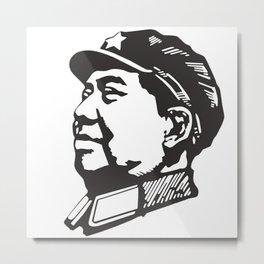 MAO tse Metal Print