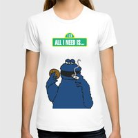 cookie monster T-shirts featuring Cookie Monster by M.REYES