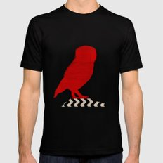 Twin Peaks - Red Room Mens Fitted Tee Black SMALL