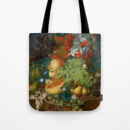 """Jan van Os  """"Fruit still life with a mouse on a ledge"""" Tote Bag"""