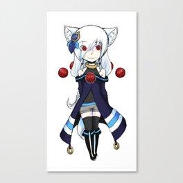 Shiroi Canvas Print