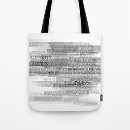 Names of God Tote Bag
