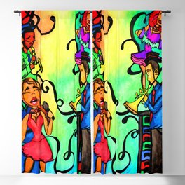 Rainbow African American band Blackout Curtain