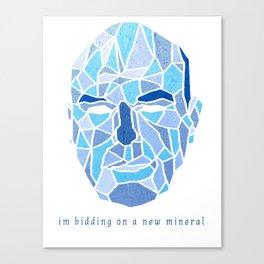 Crystallized Morality - Hank Schrader Canvas Print