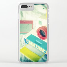 My second camera Clear iPhone Case