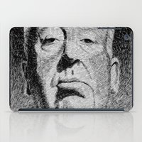 hitchcock iPad Cases featuring Fingerprint - Hitchcock by Nicolas Jolly