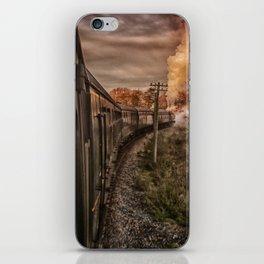 Evening Train iPhone Skin