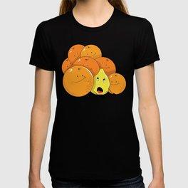 Lemon squeezed by Oranges T-shirt