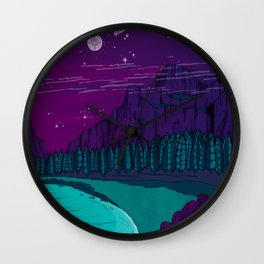 Stargazers Wall Clock
