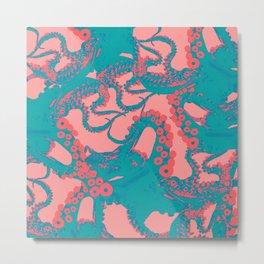 Space Invaderz_musk Metal Print