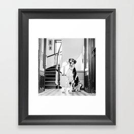 Baktus. Framed Art Print