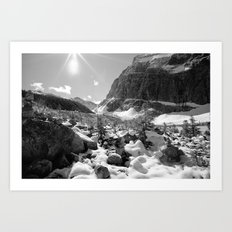 Canada Mountains Art Print
