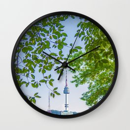 Seoul Tower - Summer Wall Clock