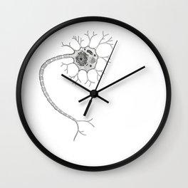 Neuron Structure Wall Clock