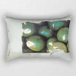 Lime Truck Rectangular Pillow