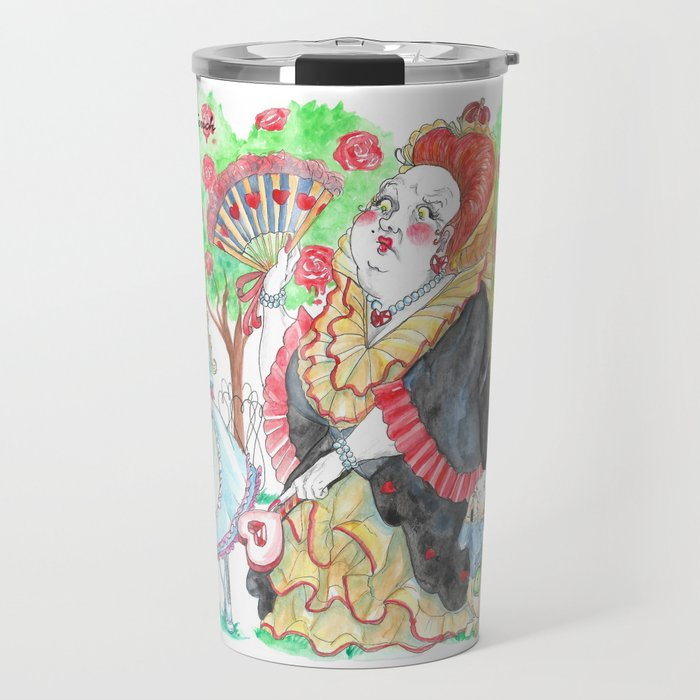 Alice's Adventures In Wonderland: Queen Of Hearts Travel Mug