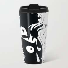 I've got a new world in my view - Emilie Record Metal Travel Mug