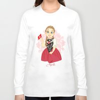switzerland Long Sleeve T-shirts featuring Switzerland by Melissa Ballesteros Parada